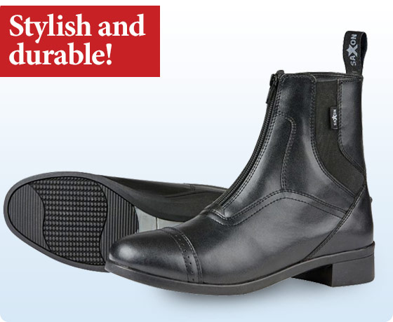 Saxon® Ladies' Syntovia Zip Paddock Boots