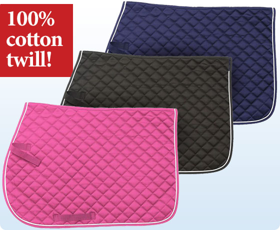 EquiRoyal® Square Quilted All Purpose Saddle Pad