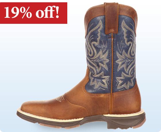 Durango Ladies' Ultra-Lite Western Saddle Boot†