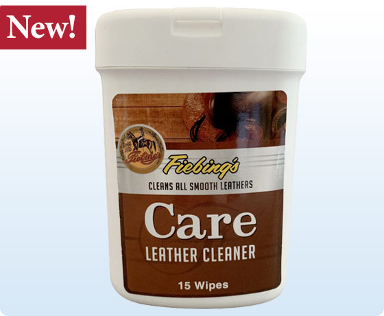 Fiebing's Care Leather Cleaner Wipes