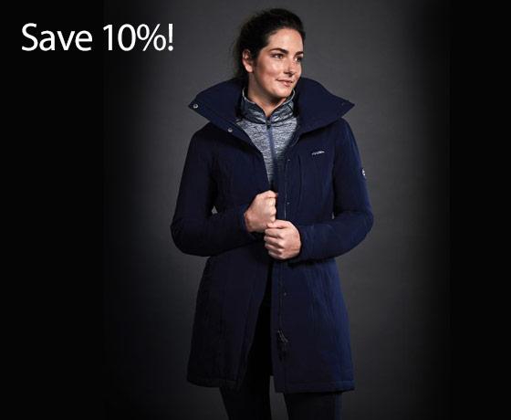 WeatherBeeta Ladies' Kyla Waterproof Jacket†