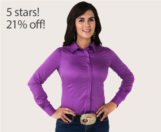 Noble Equestrian™ Ladies' Perfect Fit Show Shirt†