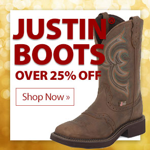 Justin® Boots over 25% Off