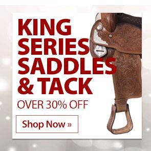 King Series Saddles & Tack over 30% Off