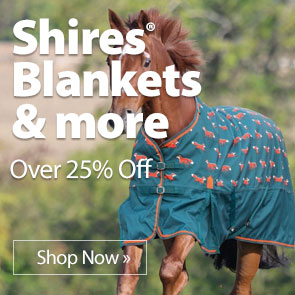 Shires® Blankets & more over 25% Off