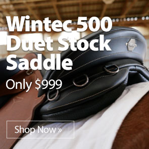 Wintec 500 Duet Stock Saddle only $999