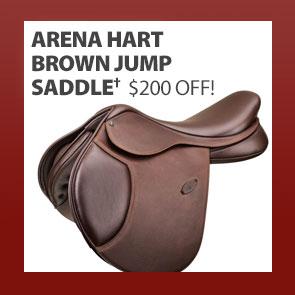 Arena HART Brown Jump Saddle†