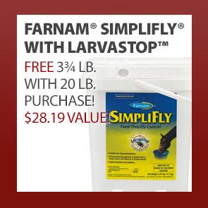 Farnam® SimpliFly® With LarvaStop™