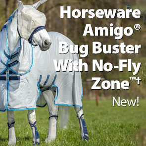 Horseware Amigo® Bug Buster With No-Fly Zone™†