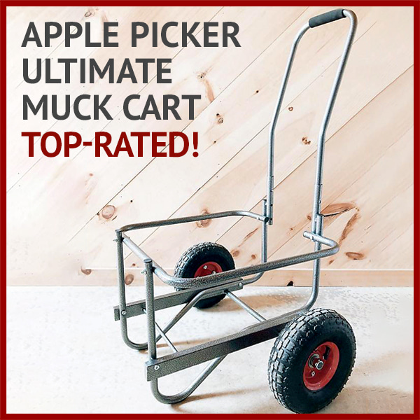 Apple Picker Ultimate Muck Cart - Top-rated!