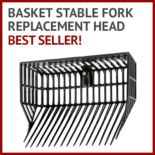 Basket Stable Fork Replacement Head - Best seller!