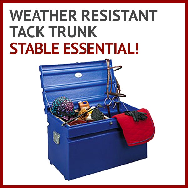 Weather Resistant Tack Trunk - Stable essential!