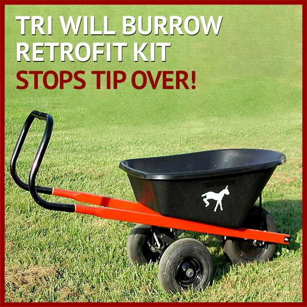 Tri Will Burrow Retrofit Kit - Stops tip over!