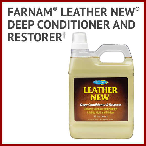 Farnam® Leather New® Deep Conditioner and Restorer† - New!