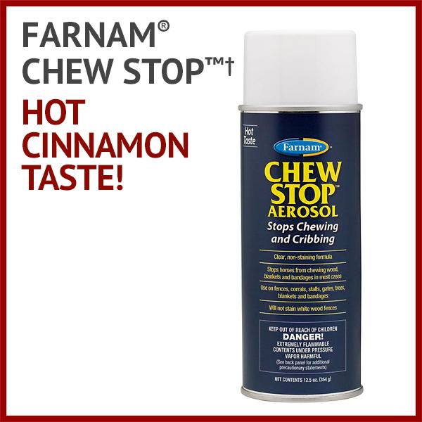 Chew Stop™† - Hot cinnamon taste!