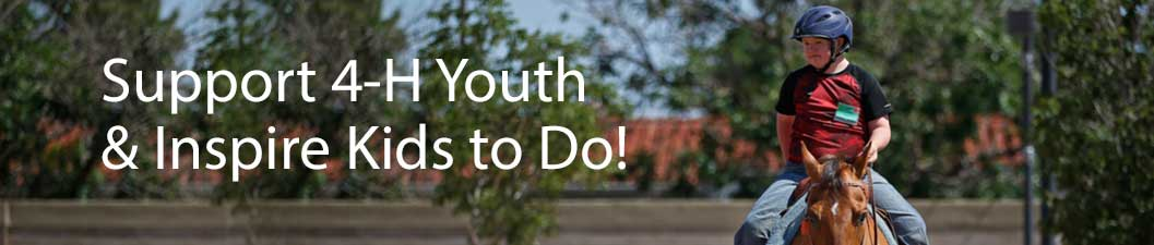 Support 4-H Youth & Inspire Kids to Do!
