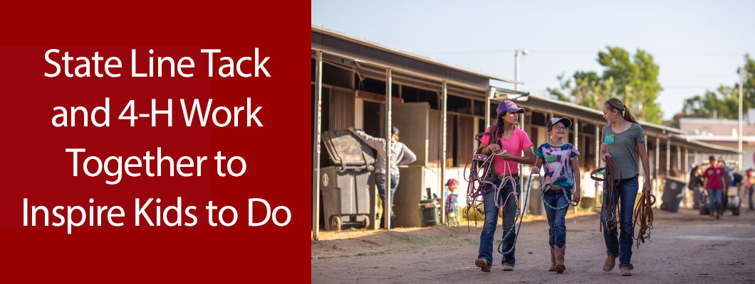 State Line Tack and 4-H Work Together to Inspire Kids to Do