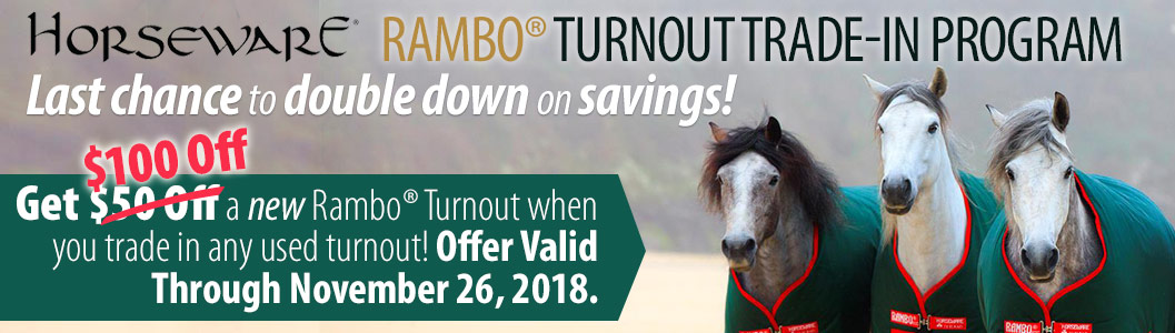 Rambo Turnout Trade-in Program