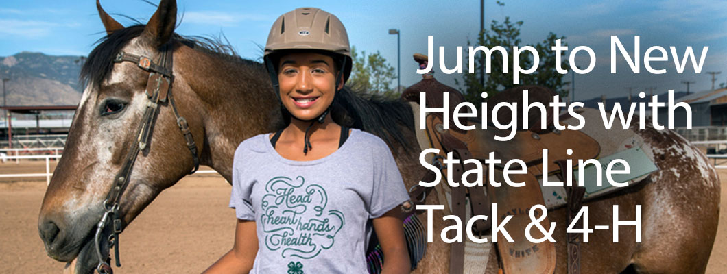 Jump to New Heights with State Line Tack & 4-H