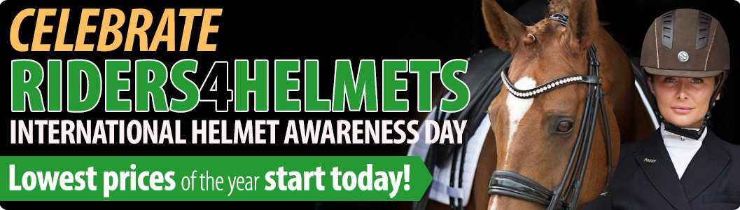 Celebrate Riders4Helmets International Helmet Awareness Day! Lowest prices of the year start today!