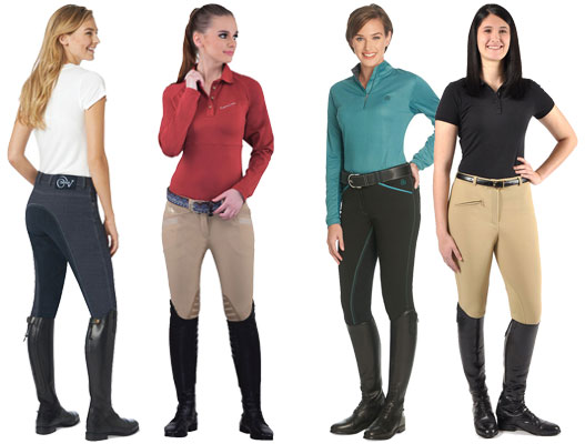 riding breeches models