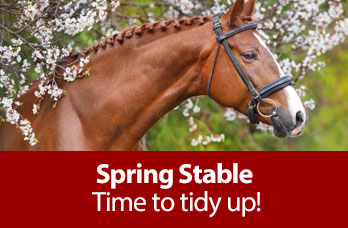 Spring Stable - Time to tidy up!