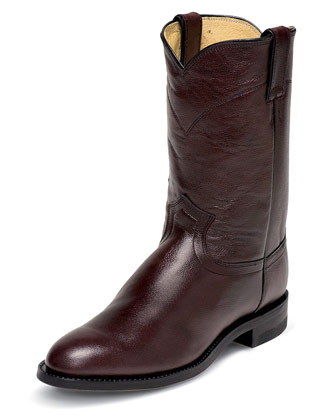 Justin Mens Roper Leather Boots
