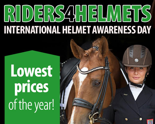 Riders4Helmets International Helmet Awareness Day - Lowest prices of the year!