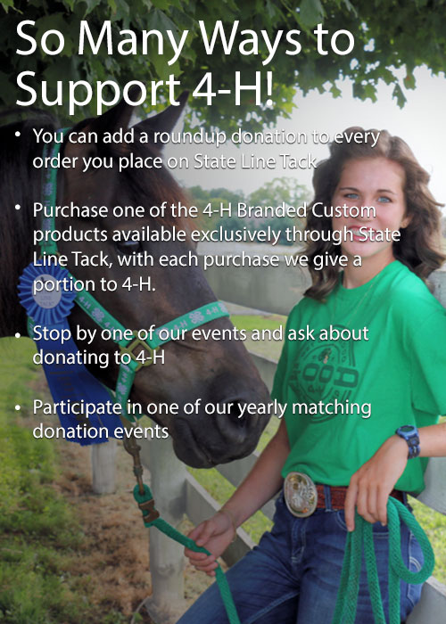So Many Ways to Support 4-H!
