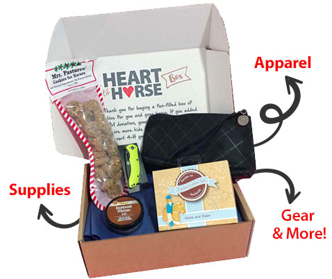 heart to horse box contents