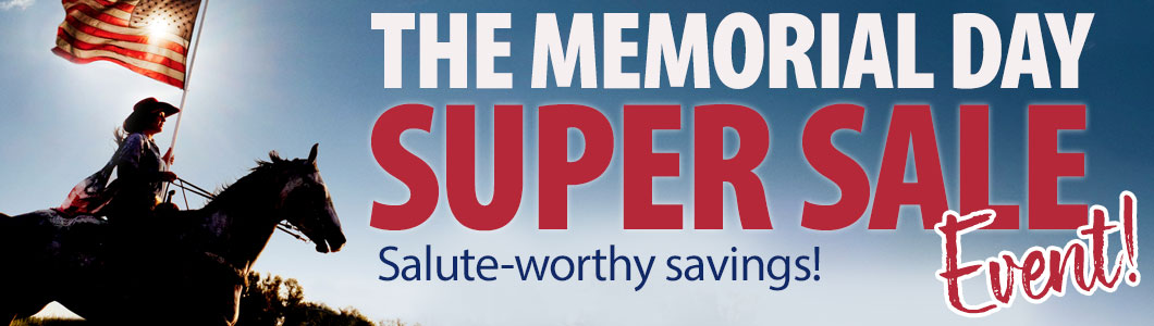 The Memorial DAy Super Sale Event! - Salute-worthy savings!