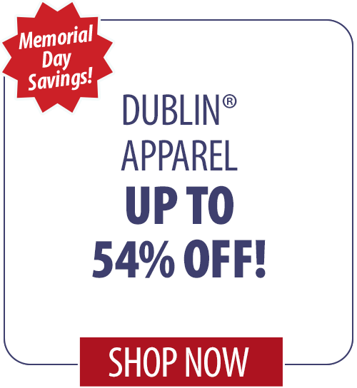 Dublin Apparel up to 54% off!