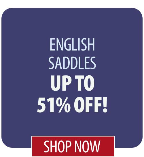 Up to 51% off English Saddles