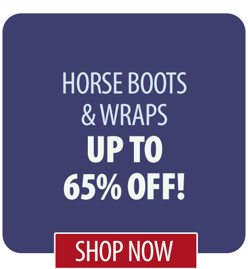 Up to 65% off Horse Boots & Wraps