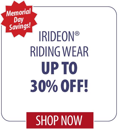 15% off Irideon� Riding Wear