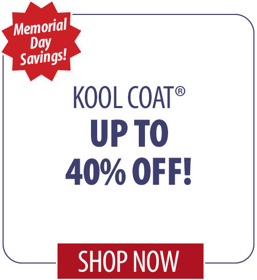 Up to 28% off Kool Coat�
