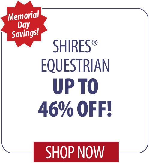 Up to 46% off Shires� Equestrian