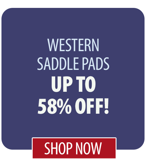 Up to 58% off Western Saddle Pads