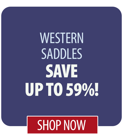Save up to 59% on Western Saddles