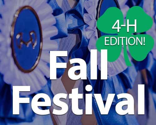 Fall Festival 4-H Edition