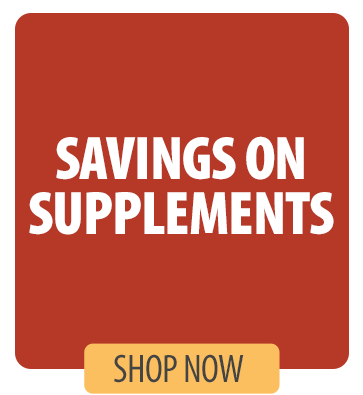 Savings on Supplements