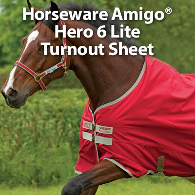 Horseware Amigo� Hero 6 Lite Turnout Sheet