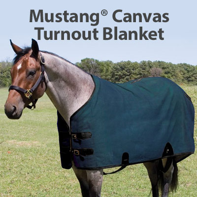 Mustang� Canvas Turnout Blanket