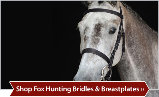 Shop Fox Hunting Bridles & Breastplates