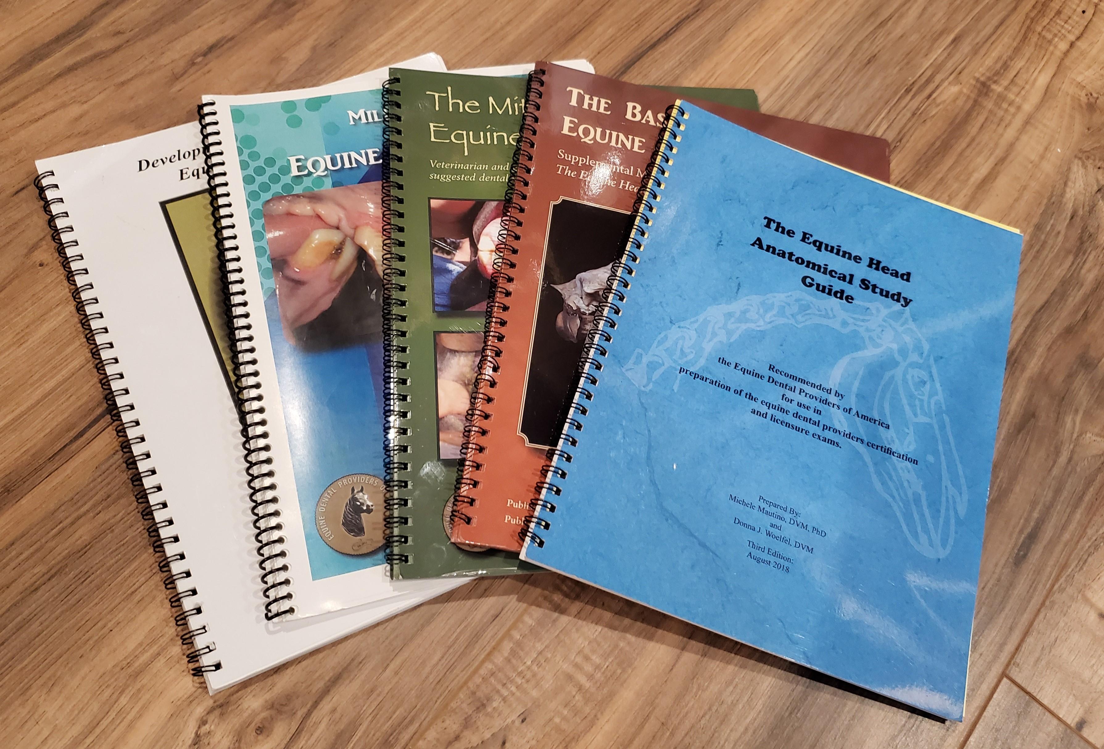 Equine anatomy books
