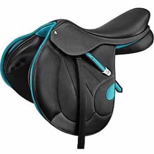 Black-colored Victrix saddle