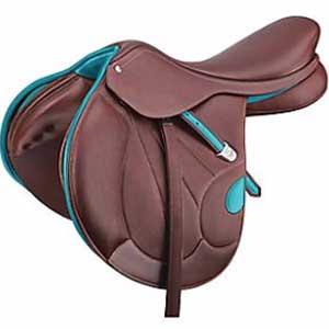 Havana-colored Victrix saddle
