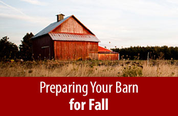 Preparing Your Barn for Fall