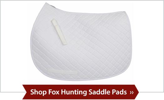 Shop Fox Hunting Saddle Pads