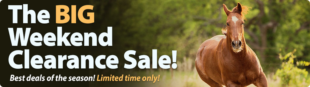 The BIG Weekend Clearance Sale! Best deals  of the season! Limited time only!